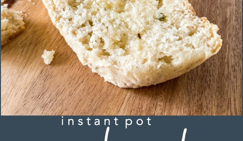 Instant Pot No-Knead Herb Bread