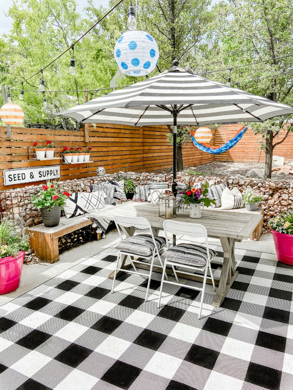 your patio awesome this summer