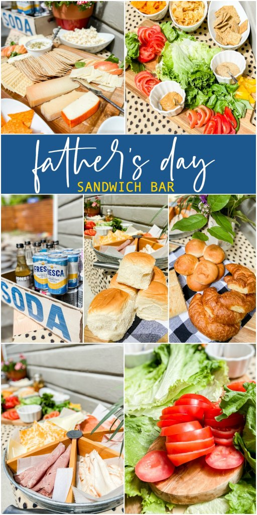 Father's Day Sandwich Bar Party Idea