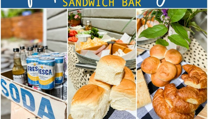 Celebrate Father's Day with a Sandwich Bar!