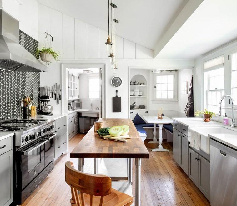 Hudson Valley Farmhouse Kitchen