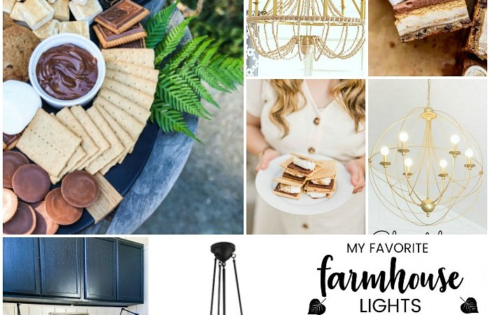 Favorite Things of the Week: Light Fixtures & S'mores Parties!