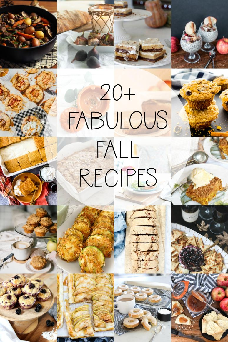 20+ Fabulous Fall #recipes #easyrecipes #foodideas #easycooking freshfood #mealplan #foodie #eat #hungry #homemade #yummy #dinnerideas #quickrecipes !