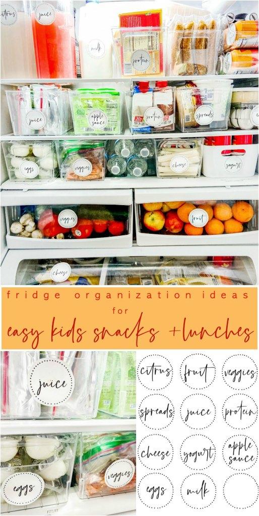 Free Refrigerator Organizing Labels