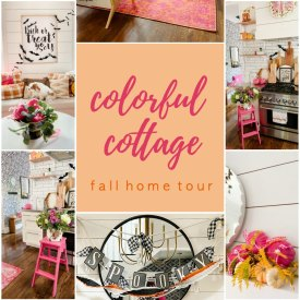 Colorful Cottage Fall Home Tour