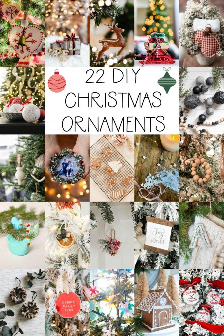 22 DIY Christmas Ornaments to Make