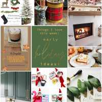 Welcome Home Saturday -- Early Holiday Ideas!