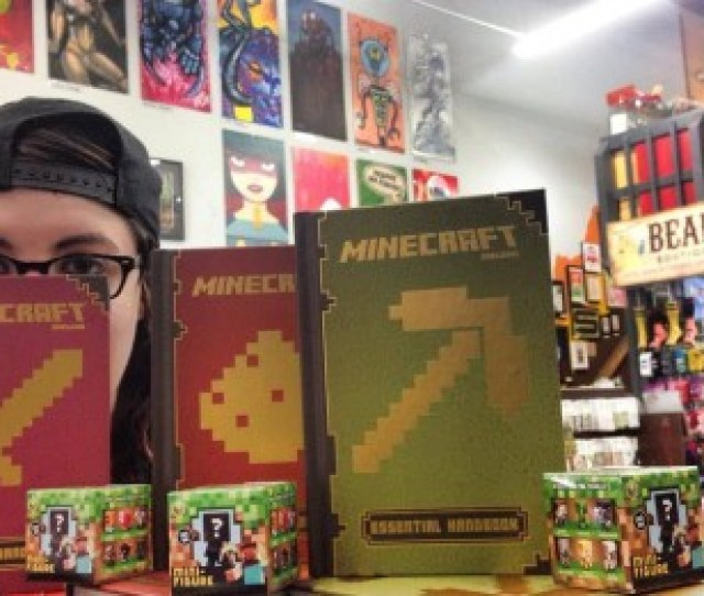 We Have Minecraft Books Aplenty We Got Whose Its And Whats Its Galore