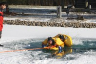 Ice rescue training 2