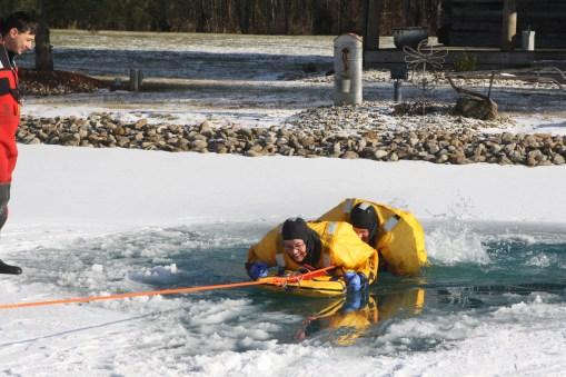 Ice rescue training 2