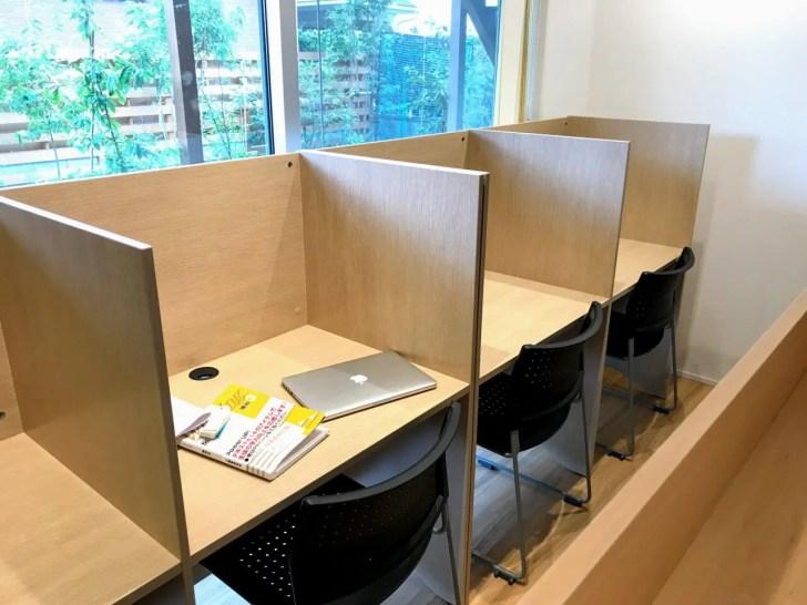 館山市の学習塾SLLの自習室
