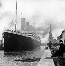 Titanic. Il più grande e lussuoso transatlantico del mondo, affondato il 15 aprire del 1912.