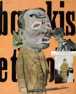 The Art Critic 1919-20 Raoul Hausmann 1886-1971 Purchased 1974 http://www.tate.org.uk/art/work/T01918