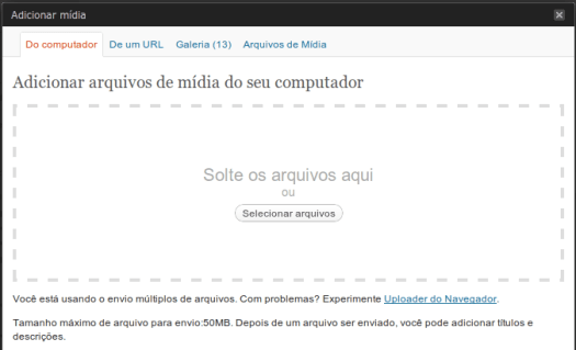 wordpress_gerenciador_de_midia