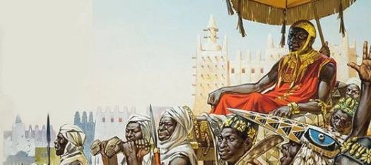 Imperador Mansa Musa, o homem mais rico da história. Imagem: Redprodução/Geledés
