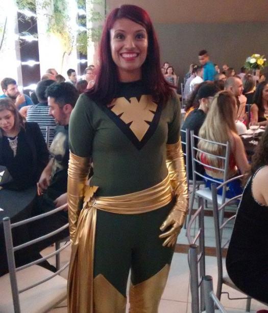 Meu cosplay de Phoenix.