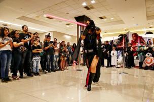 Cosplay Sith foto na ZH de 13/dezembro/2017