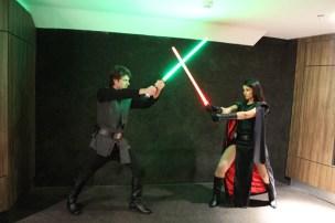 Duelo contra um Jedi