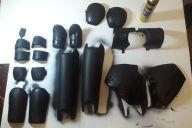 Armadura em EVA: primeira aplicação de plasti dip