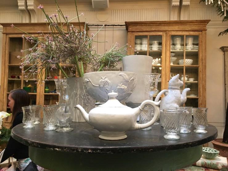 Petersham Nurseries glassware