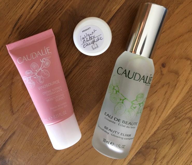 Caudalie Beauty Elixir with samples