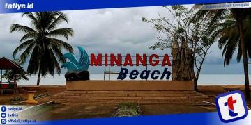 Landmark pantai Minanga yang dibangun oleh Kantor Perwakilan Bank Indonesia Provinsi Gorontalo yang dibangun beberapa bulan lalu. (Foto: Humas).