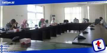 Rapat Kerja Komisi IV DPRD Provinsi Gorontalo Bersama BPJS Kesehatan bertempat di Ruang Inogaluma, Senin (1/2/2021). Foto: Sodik