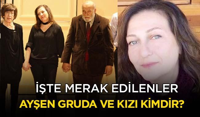 Ayşen Gruda ve Eşi Yılmaz Gruda Kızları Elvan Gruda
