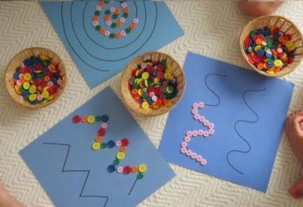 düğmelerle yapılan etkinlikler, Düğmelerle Yapılan Etkinlikler, Tatlı Bir Telaş