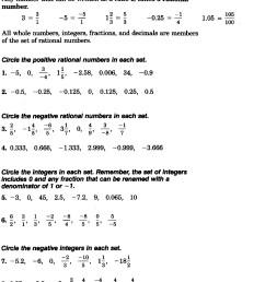 27 Rational Numbers Worksheet Grade 7 - Free Worksheet Spreadsheet [ 2017 x 1322 Pixel ]