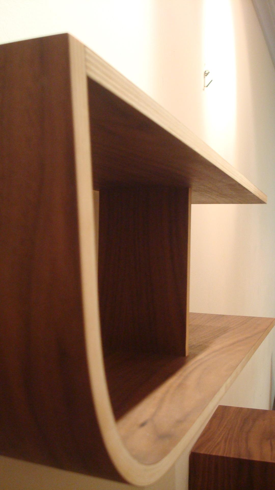 Bent Plywood Shelf TatomKH