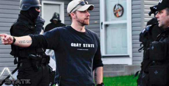 """David Crowley, producer of a new coming movie called """"Gray State"""