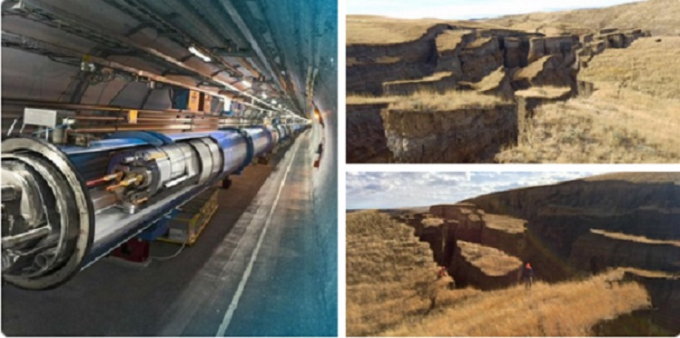 "Yellowstone Seismic Warning: China building their own ""CERN"" .. going to be THREE times larger"