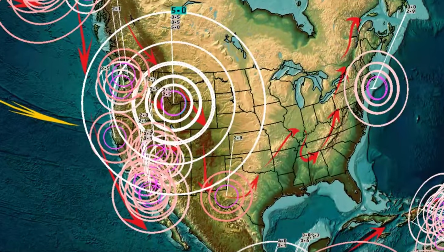 4/09/2019 — Yellowstone M5.0 (M4.5) Earthquake — Largest in years