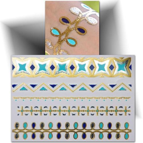 Tatouage Temporaire Phosphorescent  Tatouage éphémère Mikiti