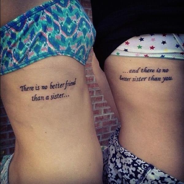 Phrase Pour La Famille Tatouage