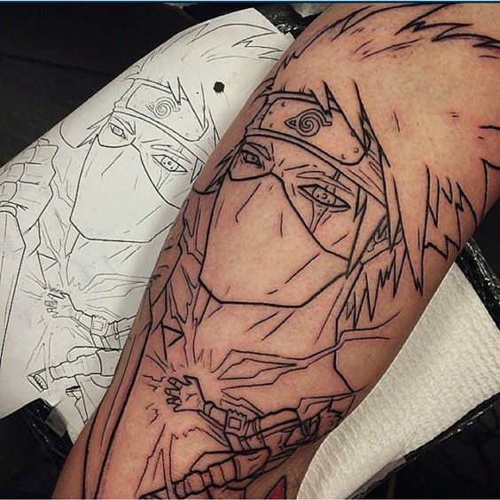 45 Anime Tattoo Designs And Ideas Tats N Rings