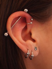 THE Ultimate Guide on Industrial Piercings With Amazing ...