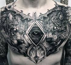 Alpha Male Alpha Wolf Symbol Tattoo