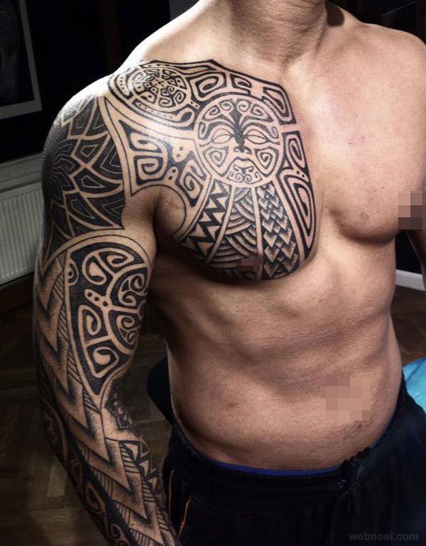 Strength African Tribal Tattoos Meanings