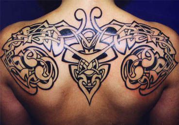Tribal Tattoo For Strength And Love