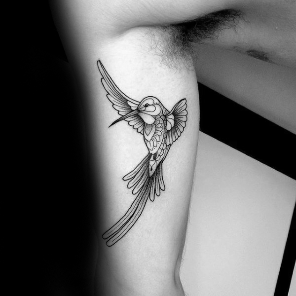 Hummingbird Tattoo Designs For Men