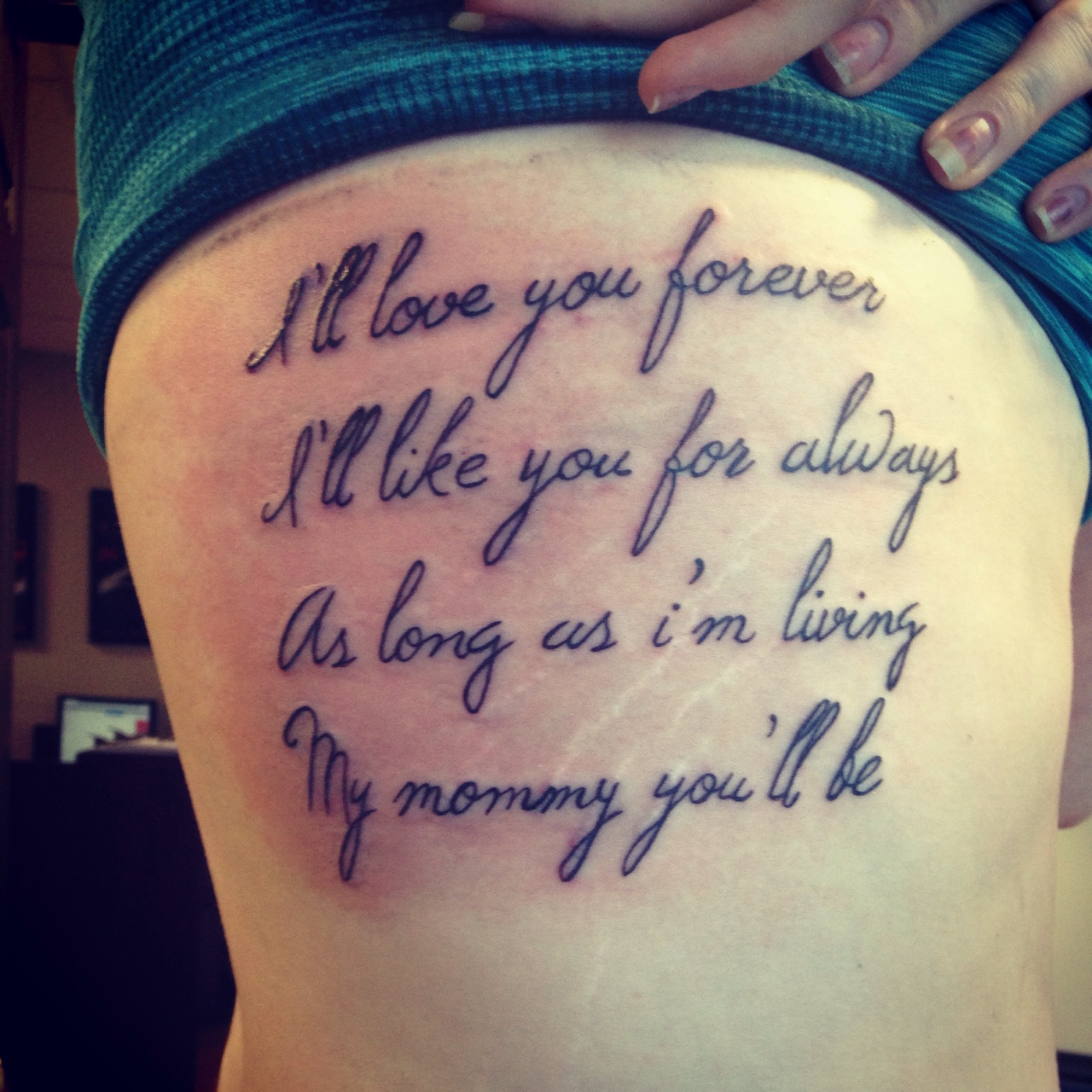 Family Always And Forever Tattoo
