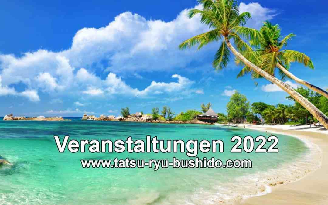 Veranstaltungen 2022 – Planung Seminare, Reisen, Events