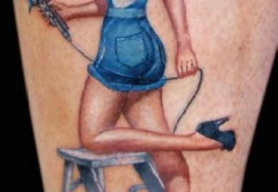Sailor Pin Up Tattoo Designs