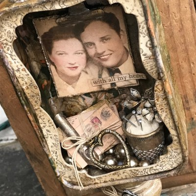 Tim Holtz Blog Hop for Creativation 2019- With all my heart