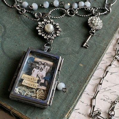 Tim Holtz Assemblage Trinket Necklace