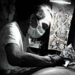 Bali tattoo artist Prima of MA Tattoo