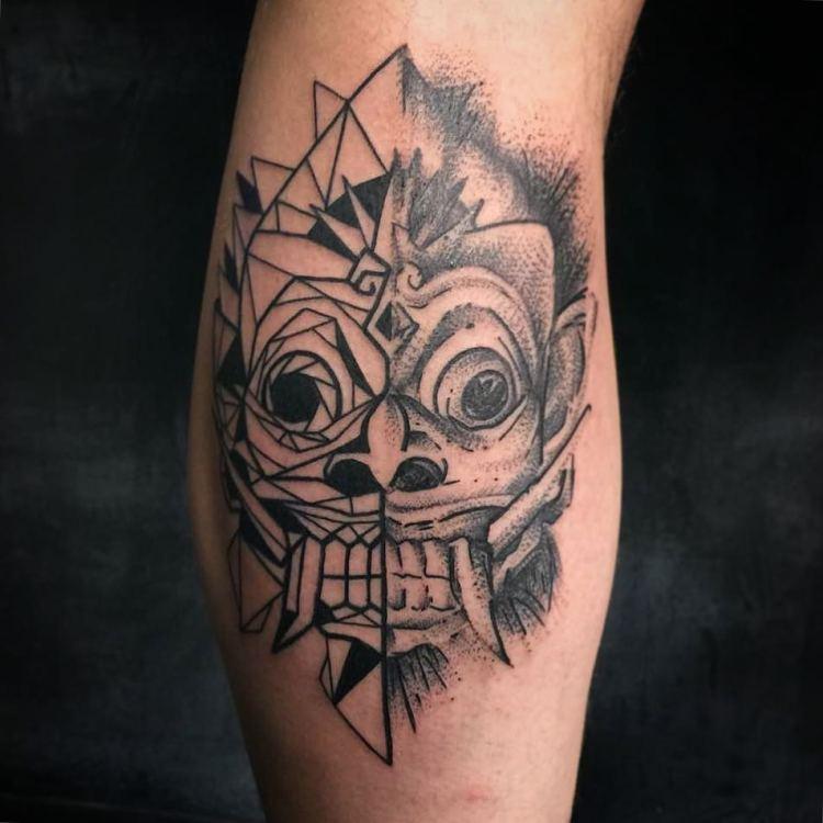 Barong tattoo by Black Tattoo Bali, Artful Ink