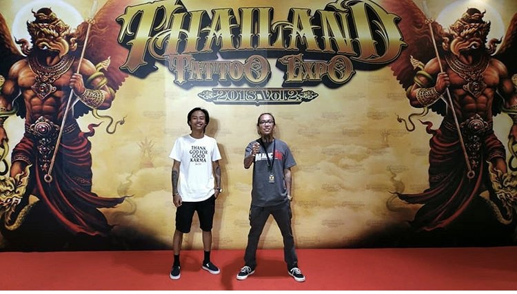 Prima Bangkok Thailand Tattoo expo winner Bali tattoo artist